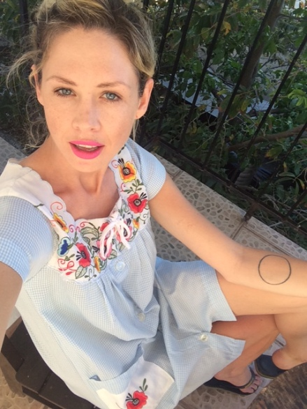 New Dress from Tulum, Q.R., Mexico